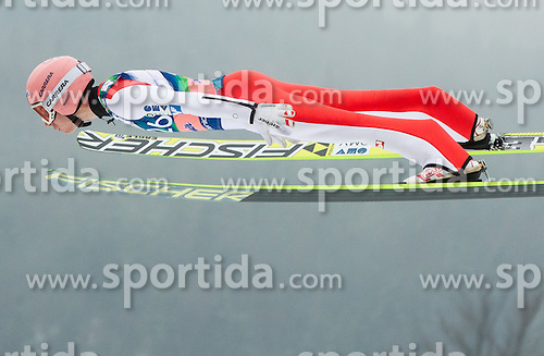 Stefan Kraft of Austria soars through the air during the Ski Flying Individual Competition at Day 4 of FIS World Cup Ski Jumping Final, on March 22, 2015 in Planica, Slovenia. Photo by Vid Ponikvar / Sportida