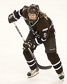 Alena Polenska (Brown - 9) - The Boston College Eagles defeated the visiting Brown University Bears 5-2 on Sunday, October 24, 2010, at Conte Forum in Chestnut Hill, Massachusetts.