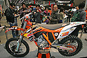 Mar 26, 2010 - Tokyo, Japan - A KTM 350SX-F is on display during the 37th Tokyo Motorcycle Show at Tokyo Big Sight on March 26, 2010. The event is the Japan's largest motorcycle exhibition and it will be held until March 28 this year. (Photo Laurent Benchana/Nippon News)