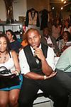 New York Giants Osi Umenyiora - Mercedes-Benz New York Fashion Week Spring/Summer 2013 -Edwing D'Angelo, New York    9/9/12