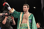 Mar 17; New York, NY, USA; Matthew Macklin before his 12 round World Middleweight championship bout against Sergio Martinez at the Theater at Madison Square Garden.