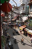 Hanoi, Vietnam,- 2007 File Photo -<br /> <br />   streets of Hanoi. <br /> <br /> <br /> <br /> <br /> <br /> <br /> photo : James Wong-  Images Distribution