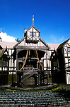 Oregon: Ashland.  Shakespeare Theatre.  Photo #: orrogu102.  Photo copyright Lee Foster, www.fostertravel.com, 510/549-2202, lee@fostertravel.com