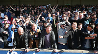 Bolton Wanderers fans celebrate their sides first goal <br /> <br /> Photographer Stephen White/CameraSport<br /> <br /> The EFL Sky Bet League One - Port Vale v Bolton Wanderers  - Saturday 22nd April 2017 - Vale Park - Burslem<br /> <br /> World Copyright &copy; 2017 CameraSport. All rights reserved. 43 Linden Ave. Countesthorpe. Leicester. England. LE8 5PG - Tel: +44 (0) 116 277 4147 - admin@camerasport.com - www.camerasport.com