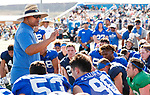 _W1_8426<br /> <br /> The BYU Football Team holds a public practice and Fan Fest at Dixie High School in St. George, Utah.<br /> <br /> 2017 BYU Football - Spring Practice March 17, 2017<br /> <br /> March 17, 2017<br /> <br /> Photo by Jaren Wilkey/BYU<br /> <br /> &copy; BYU PHOTO 2017<br /> All Rights Reserved<br /> photo@byu.edu  (801)422-7322
