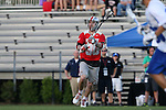09 May 2015: Ohio State's Johnny Pearson (CAN). The Duke University Blue Devils hosted the Ohio State University Buckeyes at Koskinen Stadium in Durham, North Carolina in a 2015 NCAA Division I Men's Lacrosse Tournament First Round match. Ohio State won the game 16-11.