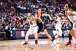 DALLAS, TX - MARCH 31:  Allisha Gray #10 of the South Carolina Gamecocks and Alanna Smith #11 of the Stanford Cardinal fight for a rebound during the 2017 Women's Final Four at American Airlines Center on March 31, 2017 in Dallas, Texas. (Photo by Justin Tafoya/NCAA Photos via Getty Images)