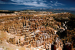 UT: Utah; Bryce Canyon National Park, Silent City    .Photo Copyright: Lee Foster, lee@fostertravel.com, www.fostertravel.com, (510) 549-2202.Image: utbryc203