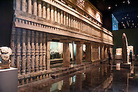 The Sala Maya in the National Museum of Anthropology, Chapultepec Park, Mexico City