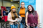 At the ITT  Careers Fair on Tuesday were Amy Griffin, Mary Riordan with Mary O'Regan, Cloud Computing