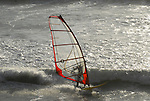 windsurfer at Waddell Beach
