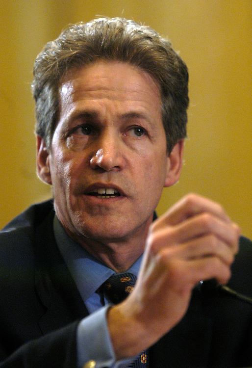 Sen. Norm Coleman, R-Mn. testifies at Senate Rules full committee hearing on lobbying reform..