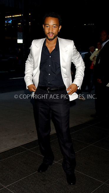 WWW.ACEPIXS.COM . . . . . ....NEW YORK, JUNE 6, 2006....John Legend attends the 38th Annual Party in the Garden held at MoMa.....Please byline: KRISTIN CALLAHAN - ACEPIXS.COM.. . . . . . ..Ace Pictures, Inc:  ..(212) 243-8787 or (646) 679 0430..e-mail: picturedesk@acepixs.com..web: http://www.acepixs.com