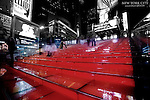 Red Steps at Duffy Square
