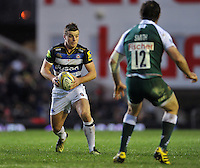 George Ford of Bath Rugby in possession. Aviva Premiership match, between Leicester Tigers and Bath Rugby on November 29, 2015 at Welford Road in Leicester, England. Photo by: Patrick Khachfe / Onside Images