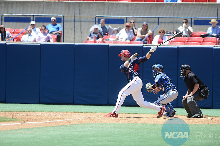23 May 2013: Fresno State defeats Air Force during the Mountain West Conference Baseball Tournament at Pete Beiden Field in Fresno, CA. Peter Lockley/NCAA Photos