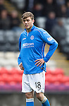 Partick Thistle v St Johnstone....25.10.14   SPFL<br /> Murray Davidson<br /> Picture by Graeme Hart.<br /> Copyright Perthshire Picture Agency<br /> Tel: 01738 623350  Mobile: 07990 594431