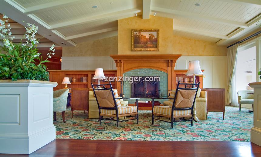 Montage, Resort, Hotel, Lounge, Seating, Laguna, Beach, Ca, seaside resort, artist community, located in southern, Orange, County, California, United States High dynamic range imaging (HDRI or HDR)