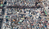Todoroki district of Tokyo with Todoroki Valley tree line visible.
