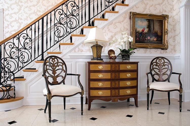 image gallery elegant foyer