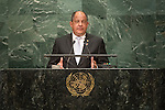 Costa Rica<br /> H.E. Mr. Luis Guillermo Sol&iacute;s Rivera<br /> Presiden<br /> <br /> General Assembly Seventy-first session: Opening of the General Debate 71 United Nations, New York