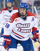 Riley Wetmore (Lowell - 16) - The visiting Minnesota State University-Mankato Mavericks defeated the University of Massachusetts-Lowell River Hawks 3-2 on Saturday, November 27, 2010, at Tsongas Arena in Lowell, Massachusetts.