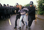 ORGREAVE COAL MINERS STRIKE YORKSHIRE ENGLAND STOCK PHOTOGRAPHY PHOTOS 1984 BRITAIN