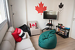 RIO DE JANEIRO - 2/9/2016:  Team Canada at the Athlete's Village at the Rio 2016 Paralympic Games in Rio de Janeiro, Brazil. (Photo by Matthew Murnaghan/Canadian Paralympic Committee