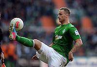FUSSBALL   1. BUNDESLIGA   SAISON 2012/2013    30. SPIELTAG SV Werder Bremen - VfL Wolfsburg                          20.04.2013 Marko Arnautovic (SV Werder Bremen)