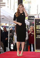 JAN 11 Amy Adams Honored With Star On The Hollywood Walk Of Fame