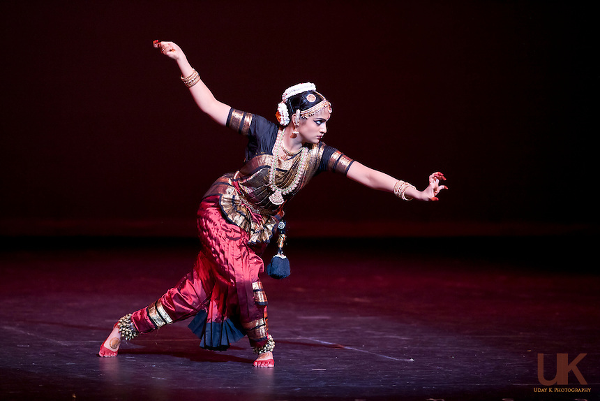 anjali performing her arangetram at the irving arts center irving