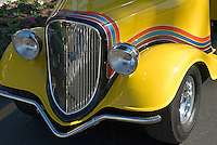 Golf Cart Yellow Custom Front Grill, Classic, Unique,