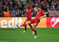 FUSSBALL CHAMPIONS LEAGUE  SAISON 2015/2016 VIERTELFINALE HINSPIEL FC Bayern Muenchen - Benfica Lissabon         05.04.2016 Thomas Mueller (FC Bayern Muenchen)