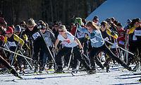 XC ski race
