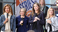 NEW YORK, NY - APRIL 19: Hoda Kotb, Dylan Dreyer, Savannah Guthrie and Sheryl Crow pictured at NBC's Today Show in New York City on April 19, 2017. <br /> CAP/MPI/RW<br /> &copy;RW/MPI/Capital Pictures