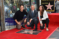 Daniel Henney, Gary Sinise &amp; Alana de la Garza at the Hollywood Walk of Fame star ceremony honoring actor Gary Sinise. Los Angeles, USA 17 April  2017<br /> Picture: Paul Smith/Featureflash/SilverHub 0208 004 5359 sales@silverhubmedia.com