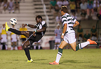 Number 8 ranked Charlotte beats number 16 ranked Coastal Carolina 1-0 on a goal by Thomas Allen in the 101st minute during the second overtime.  Uchenna Uzo (2), Giuseppe Gentile (11)