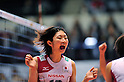 Nana Iwasaka (JPN),.NOVEMBER 17,2011 - Volleyball : FIVB Women's Volleyball World Cup 2011,4th Round Tokyo(A) during match between Japan 3-2 Germany at 1st Yoyogi Gymnasium, Tokyo, Japan. (Photo by Jun Tsukida/AFLO SPORT) [0003].