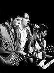 The Clash 1979 Mick Jones and Joe Strummer.© Chris Walter.