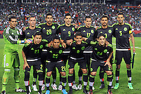 Kansas City, Missouri - March 31, 2015: Mexico defeated Paraguay 1-0 in an international friendly at Arrowhead Stadium.