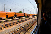 The Balkan Express Train between Belgrade, Serbia and Sofia, Bulgaria, 2007, ©Stephen Blake Farrington