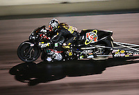 Jul 23, 2016; Morrison, CO, USA; NHRA pro stock motorcycle rider Angelle Sampey during qualifying for the Mile High Nationals at Bandimere Speedway. Mandatory Credit: Mark J. Rebilas-USA TODAY Sports