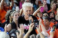 """Pink performs on NBC's """"Today"""" show in New York City"""
