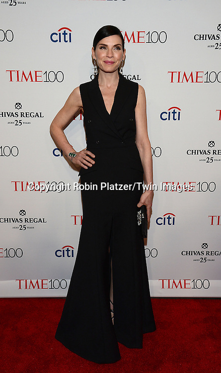 Julianna  Margulies attends the TIME 100 Issue celebrating the 100 Most Influential People in the World on April 21, 2015 <br /> at Frederick P Rose Hall at Lincoln Center in New York City, New York, USA.<br /> <br /> photo by Robin Platzer/Twin Images<br />  <br /> phone number 212-935-0770