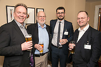 Pictured from left are Paul Ritchie of Foremost Security, Steve Potts of Andante, Adam Kingswood of Kingswood Residential Investment Management and Terry Ellis of H22 Solutions
