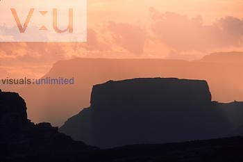 Mesa's at dawn. Arches National Park, Utah