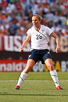 22 MAY 2010:  USA's Rachel Buehler #26 during the International Friendly soccer match between Germany WNT vs USA WNT at Cleveland Browns Stadium in Cleveland, Ohio on May 22, 2010.