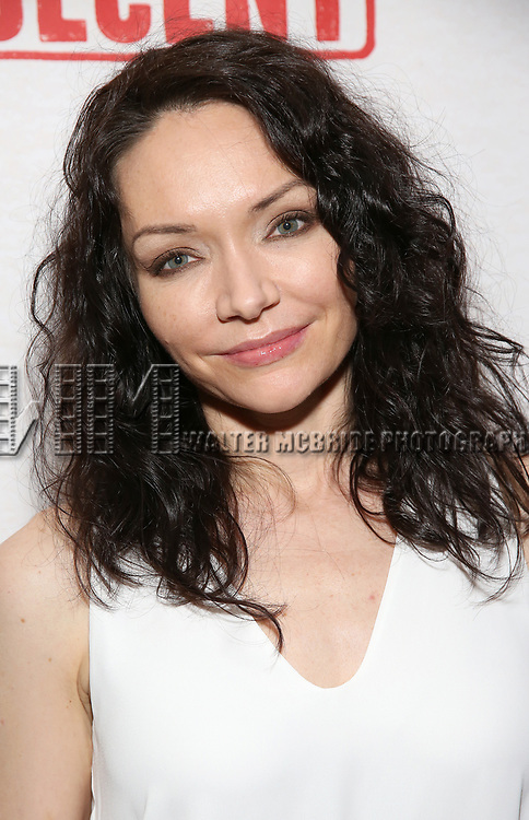 Katrina Lenk attends the Broadway Opening Night After Party for  'Indecent' at Bryant Park Grill on April 18, 2017 in New York City.