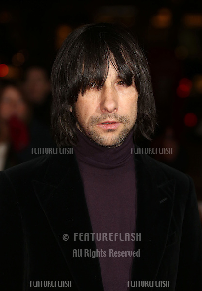 Bobby Gillespie arriving for the David Bowie Is private view held at the V&A, London. 20/03/2013 Picture by: Henry Harris / Featureflash.