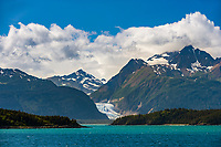 Chilkat Mountain Range near Haines, Alaska, Lynn Canal, Southeast Aalska